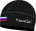 повязки и шапки NordSki Active Black Rus